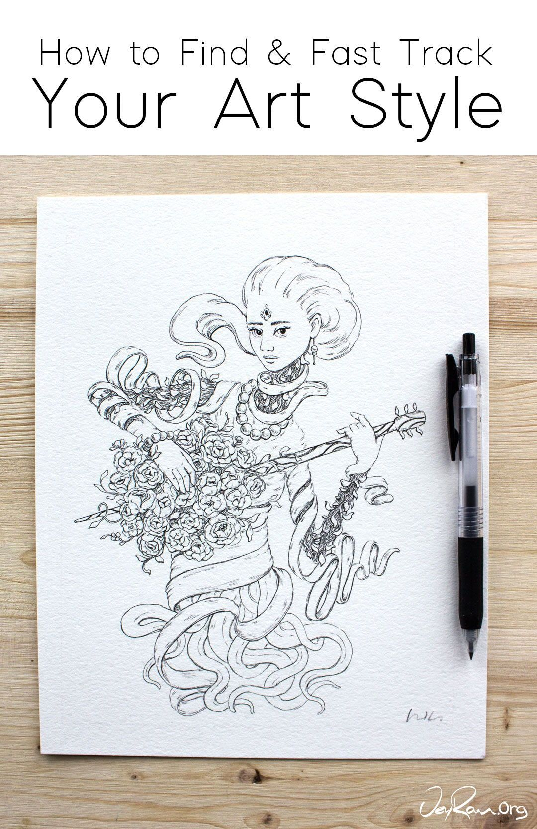 Finding Your Style Can Be A Challenging Endevour But It Can Be Made Easier With These Tips Drawing Challenges And Drawings Finding Yourself Drawing Challenge