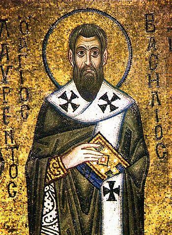 Santos, Beatos, Veneráveis e Servos de Deus: São Basílio Magno, Bispo e Doutor da Igreja.