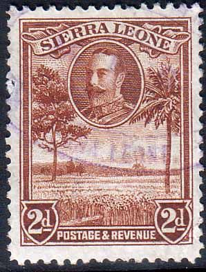 Sierra Leone 1932 King George V Rice Field SG 158 Fine Used Scott 143 Other African Stamps HERE