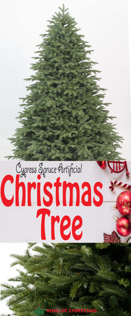 12 Foot Cypress Spruce Artificial Christmas Tree With 3300 Warm