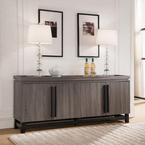 25 Dining Room Cabinet Designs Decorating Ideas: Sonova Modern 70-inch Buffet Cabinet By FOA