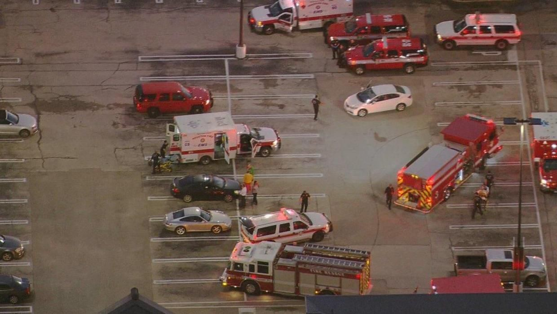 "Police shoot, kill ""active shooter"" at Houston strip mall"