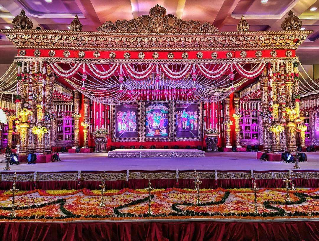 Telugu Wedding Mandap Indian Wedding Decor In 2018 Pinterest