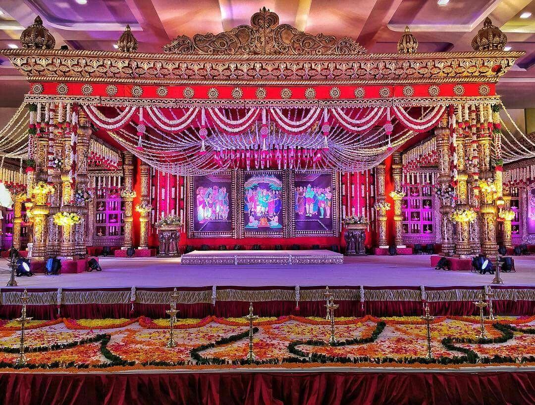 Wedding mandap decoration images  Telugu Wedding mandap  Wedding Themes  Pinterest  Wedding