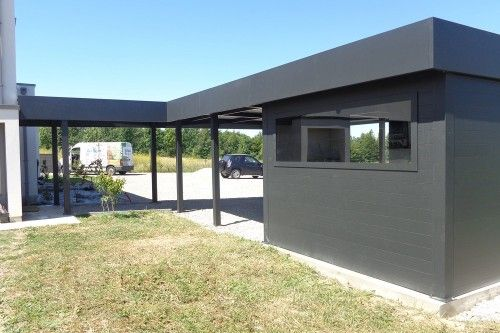 carport aluminium concept ys51 jornalagora. Black Bedroom Furniture Sets. Home Design Ideas