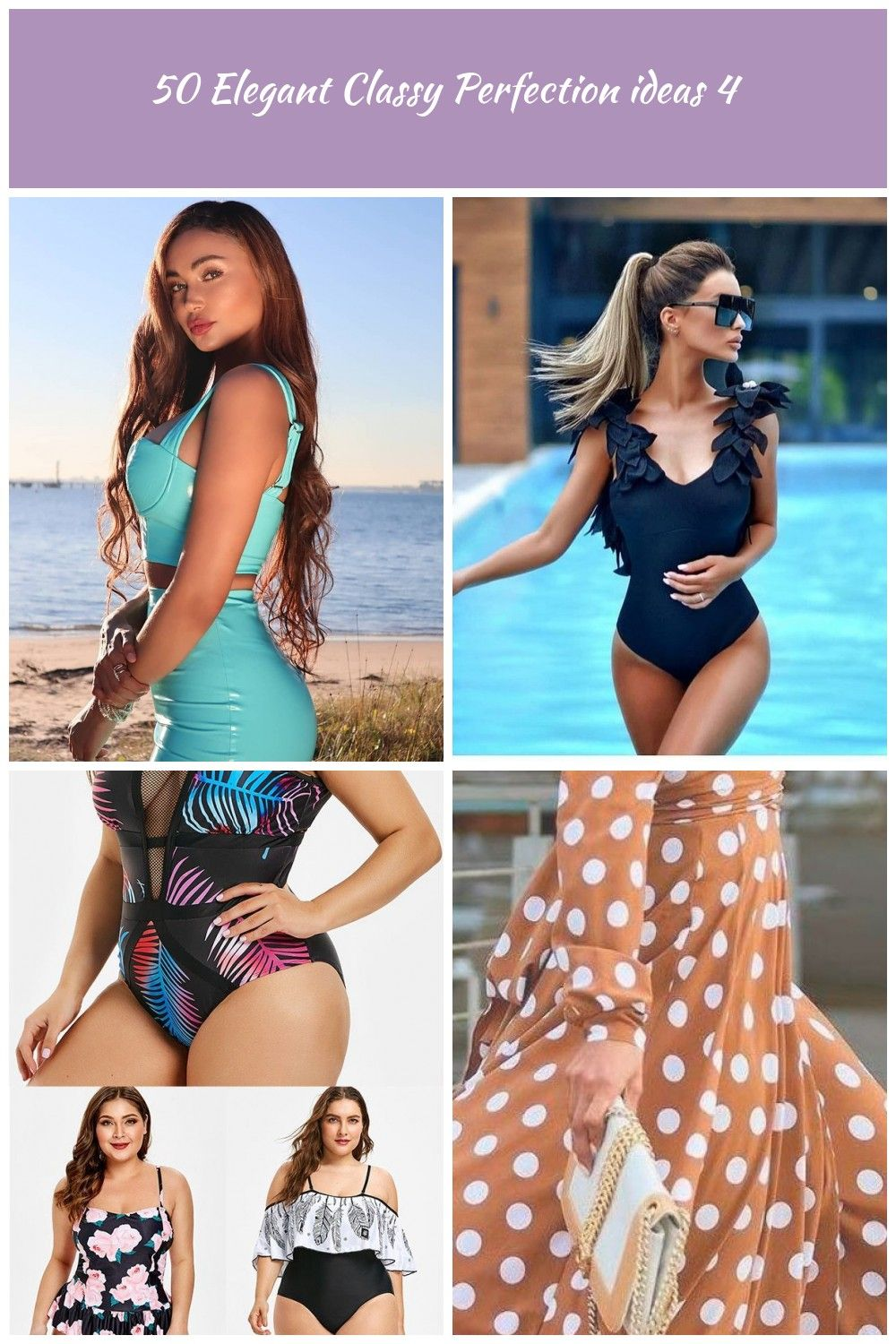 Que chica tan tierna  swimsuit colors Classy