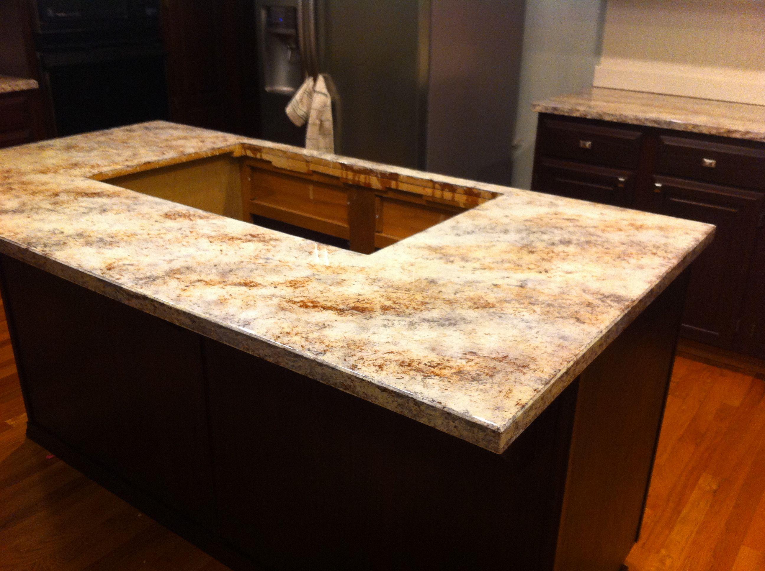 Faux Sho Painted Granite Countertops