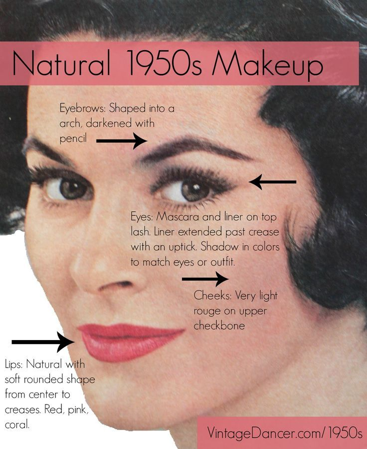 50s Pinup Makeup Tutorial | Decorativestyle.org