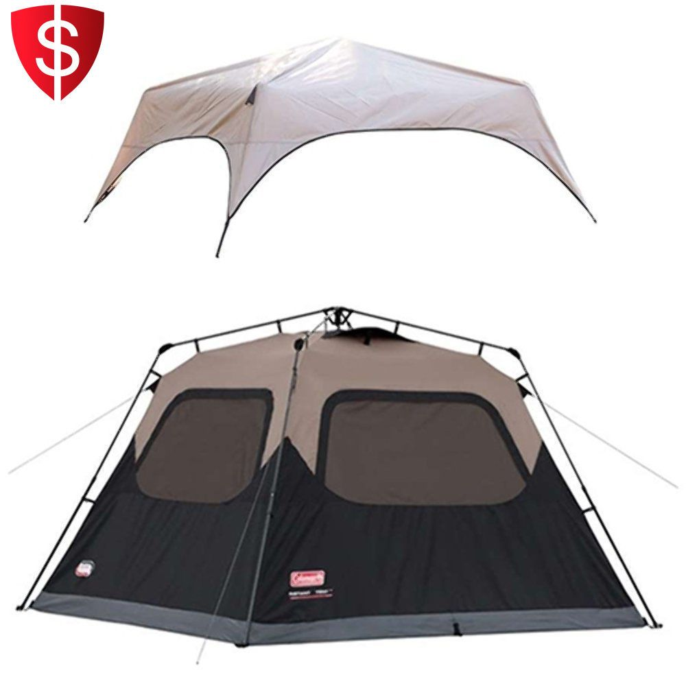 Instant Tent Rainfly Accessory 6 Person Camping Cabin