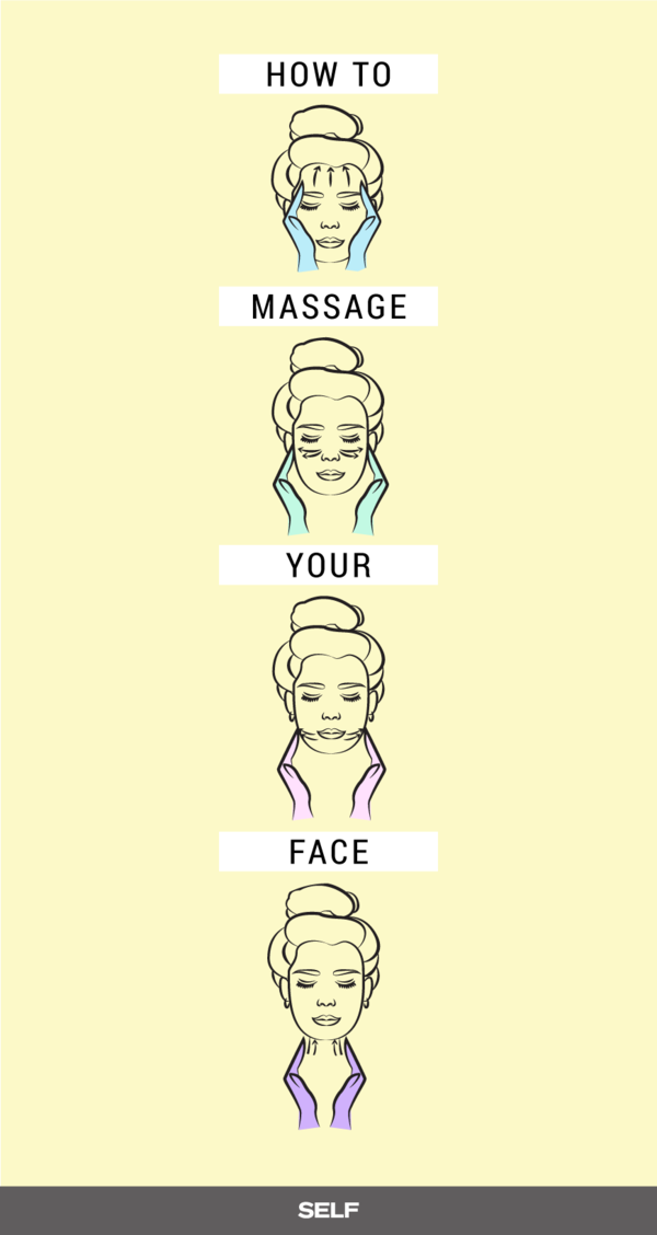 Here Are Step By Step Instructions For The Perfect Facial Massage