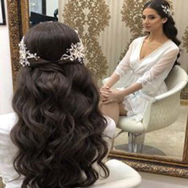 Beautiful Indian long hair extensions for women ha