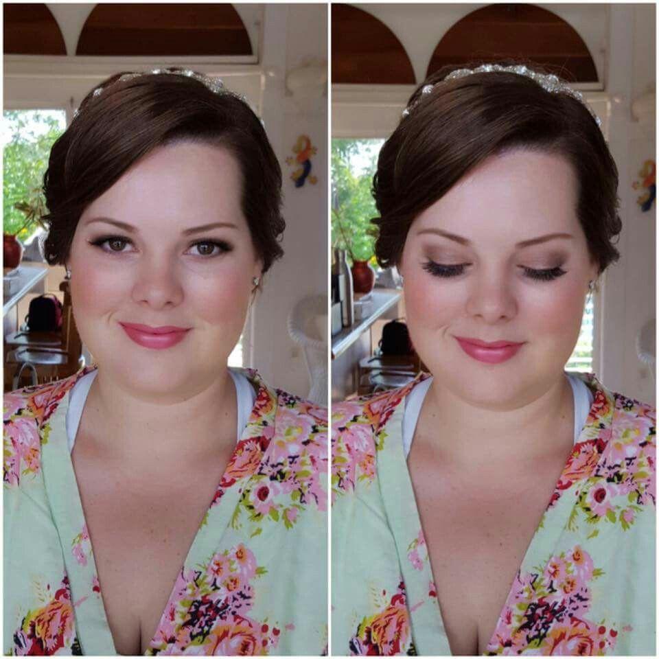 Pretty in Pinks for this bride today! #bridalparty #Bride #rosegoldshadows  #popofpink #glamsquad #sugarandspicesalonspa #ginapetersenmakeup #makeupbyGina #stthomasusvi #bridalmakeover #hairandmakeupaddiction #wakeupandmakeup #allaboutthoselips