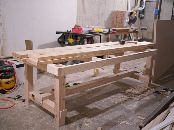 dining room table diy- erin loechner - love this heavy-duty and