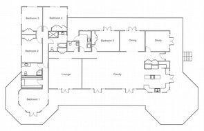 Floor Plan Classic Queenslander Floor Plans Queenslander House House Plans