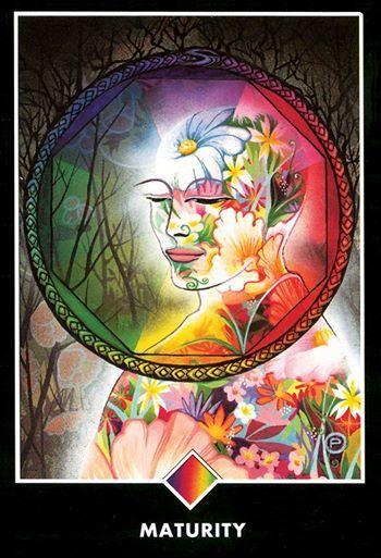 c5dec740484307 Ace of Pentacles - Osho Zen Tarot   Tarot   Tarot, Ace of pentacles ...