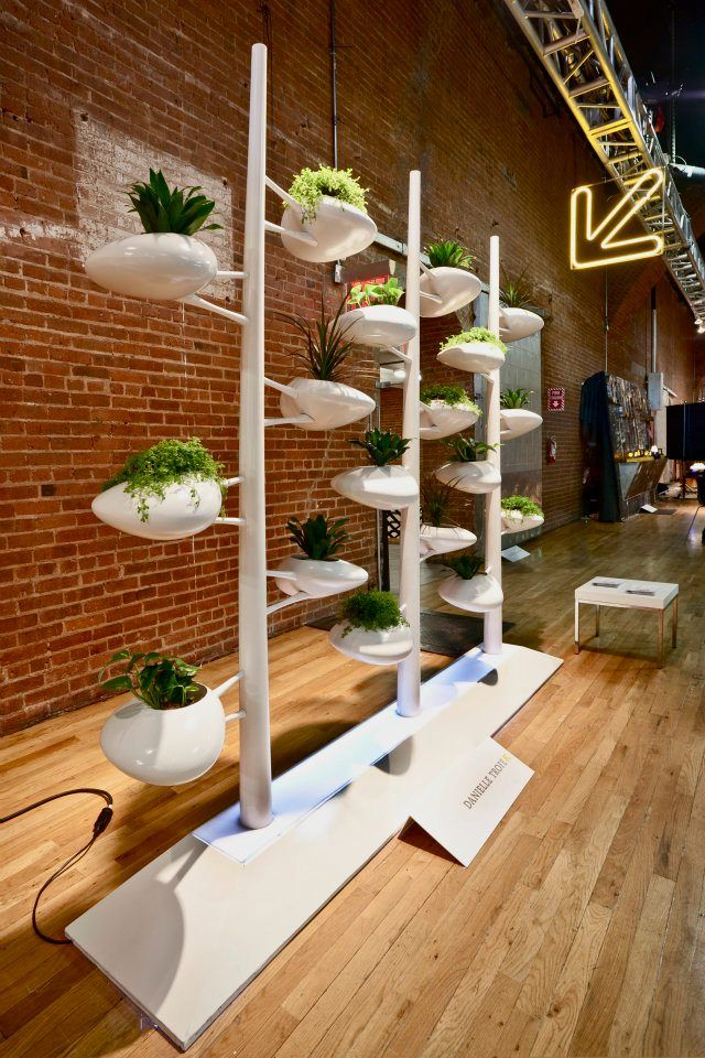 Hydroponic Vertical Garden at Wanted Design NYC | Hydroponic ...