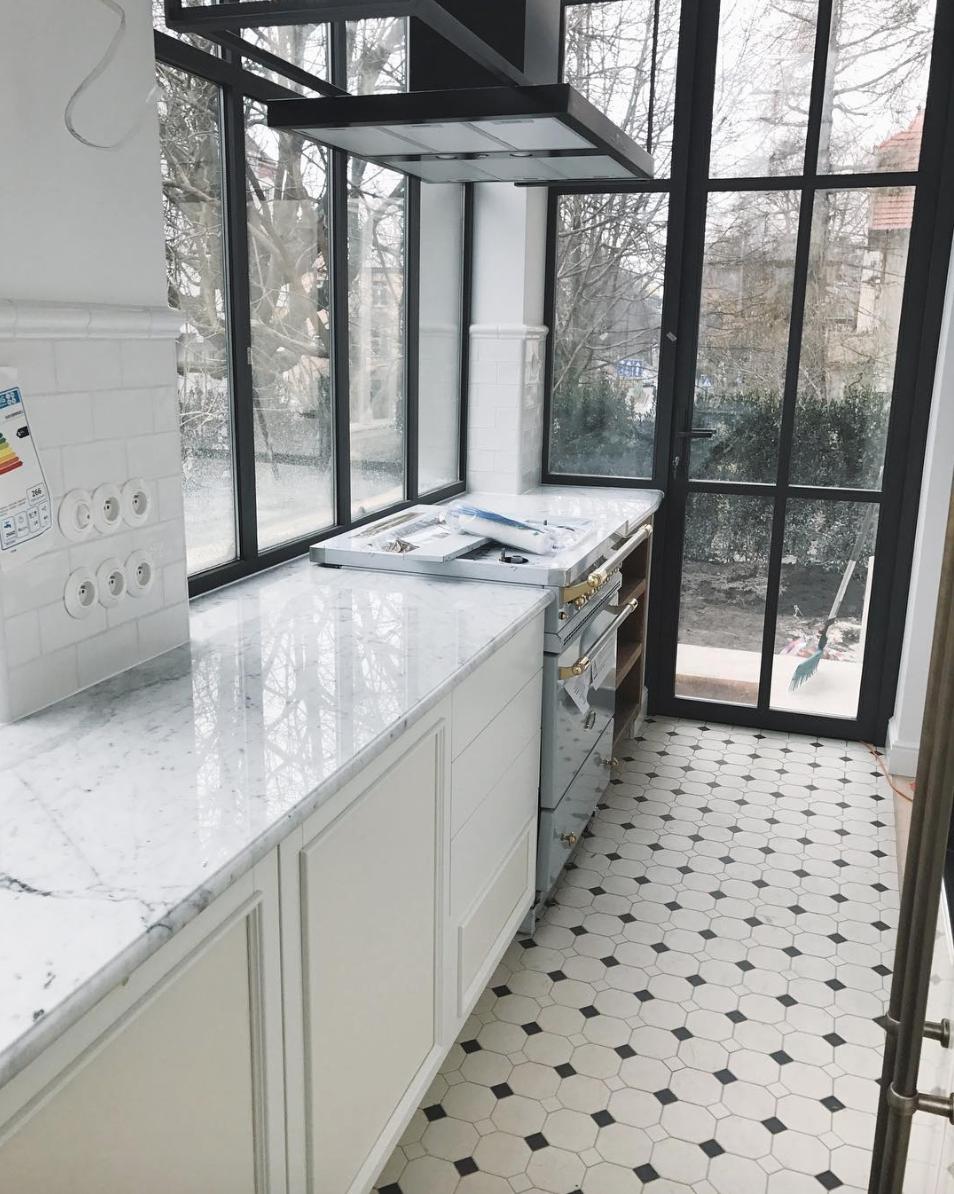 Make Life Easier Kitchen Retro Black And White Floor Kitchen Inspirations Home Decor Inspiration Contemporary Kitchen