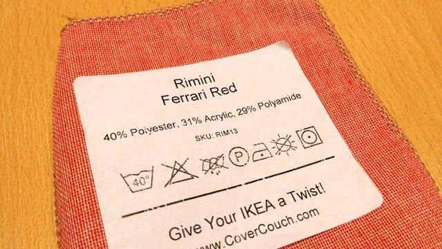 Os poliésteres, veludos e microfibras são inimigos das arranhadelas de gato. Porque não comprar uma capa à medida do vosso sofá Ikea?