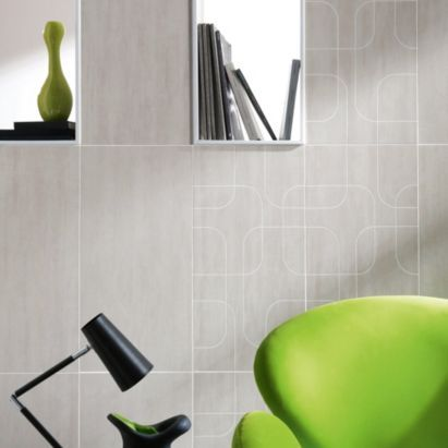 Colours Pack Of 8 Stone City Rain Wall Floor Tiles L600 X W