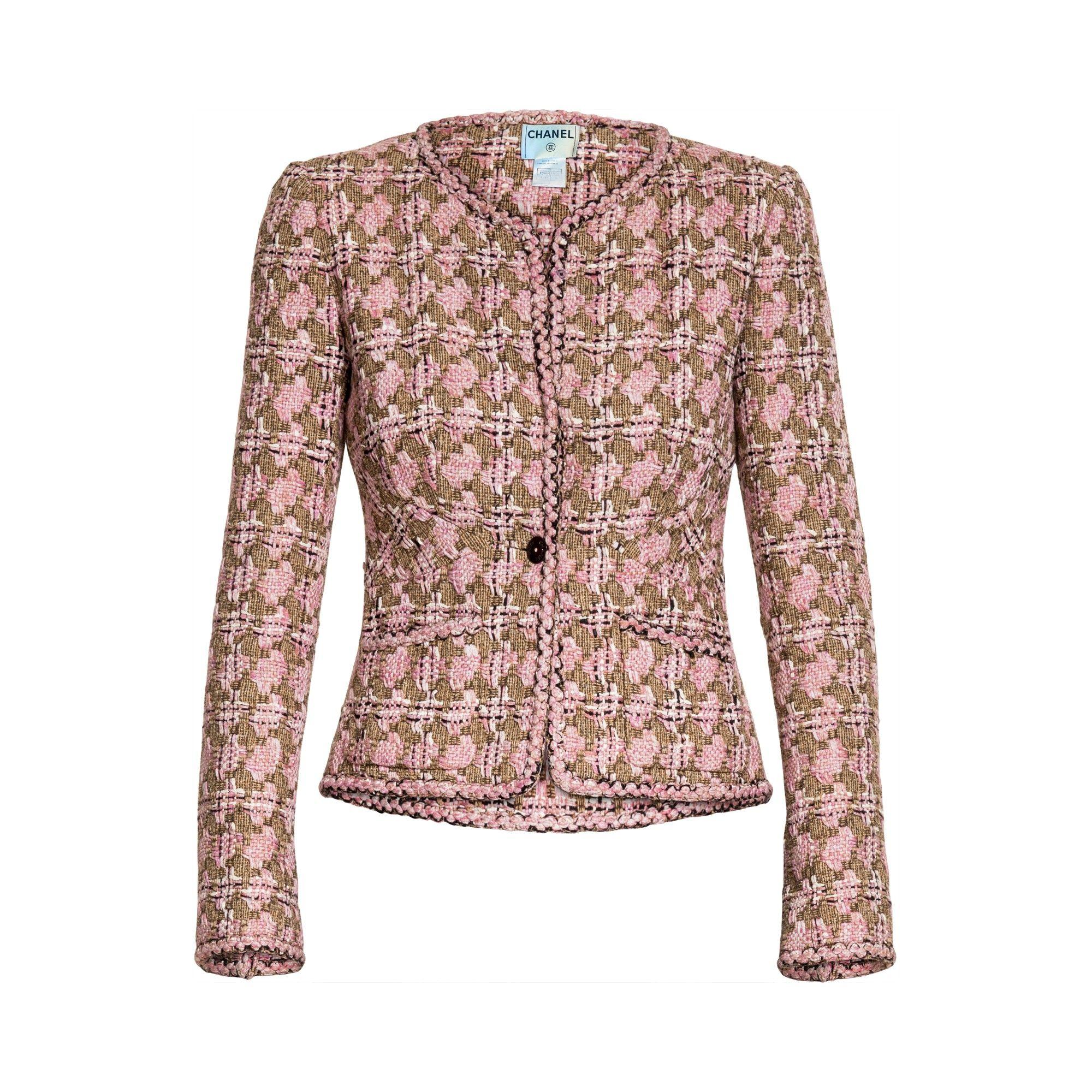 Pin By Rachel Amidei On Abiti Vintage Designer Jackets Chanel Jacket Clothes