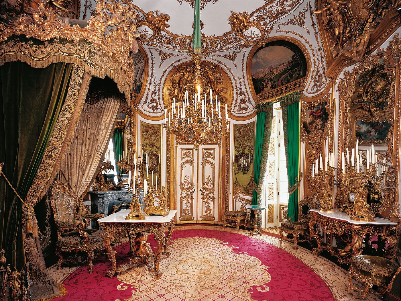 Bavarian Palace Department Linderhof Palace And Park Palace History Linderhof Palace Castles Interior Palace Interior