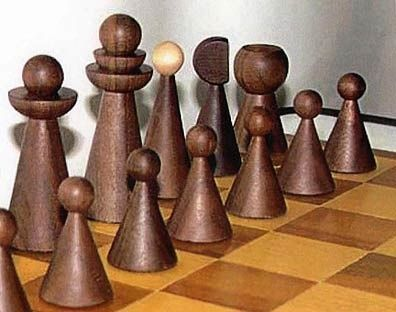 Cool Chess Sets | chess set By Damir Maleshev | Mid-Century and Cool Chess Sets