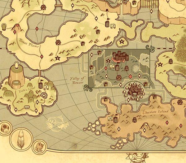 Ye olde mario world map 1 1 bc maps pinterest ye olde mario world map 1 1 bc gumiabroncs Image collections