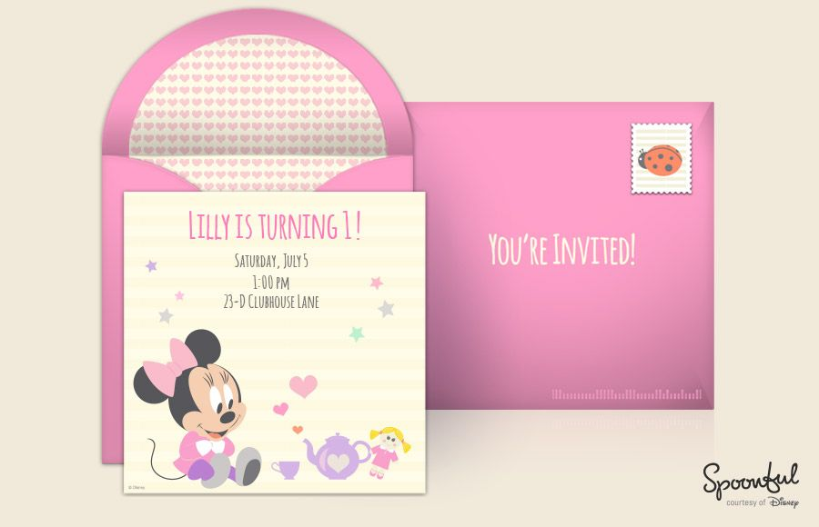 introduces The Disney Online Invitation Collection Disney