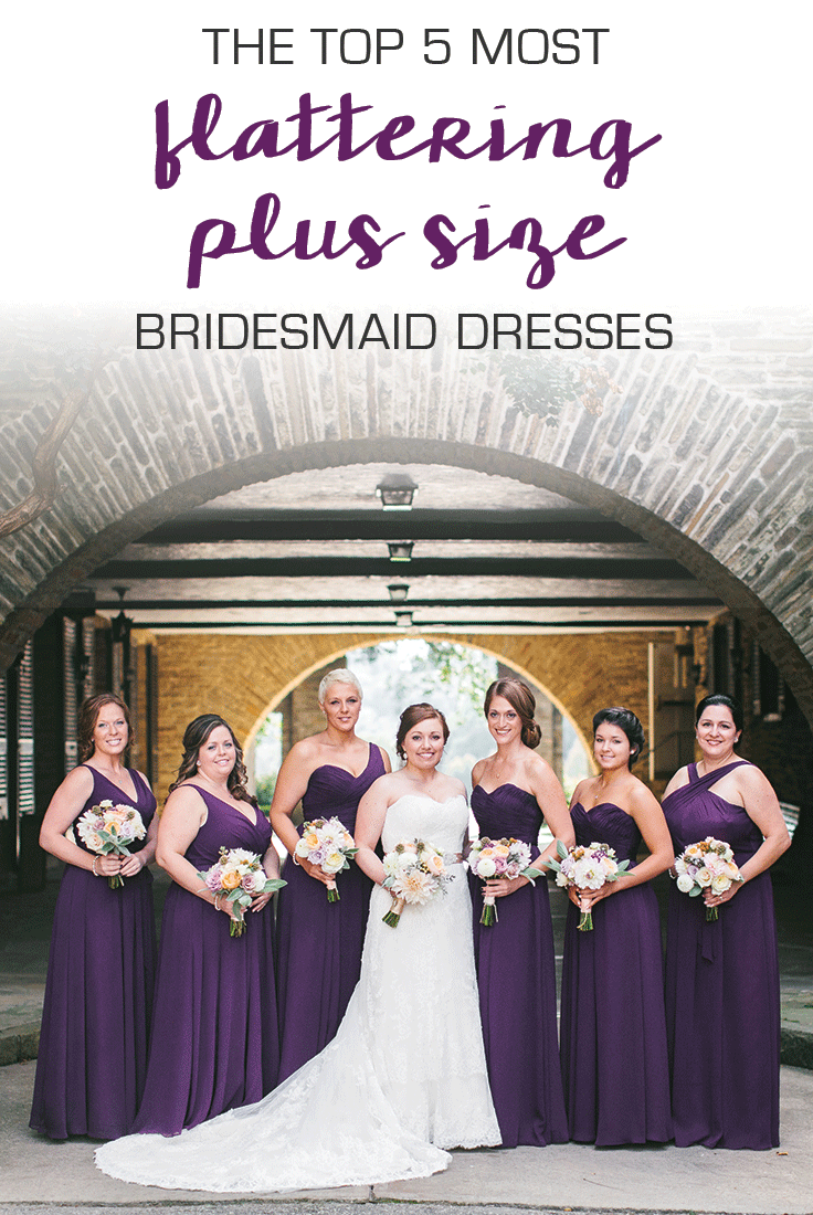 5 Flattering Dresses That Are Perfect For Plus Size Bridesmaids