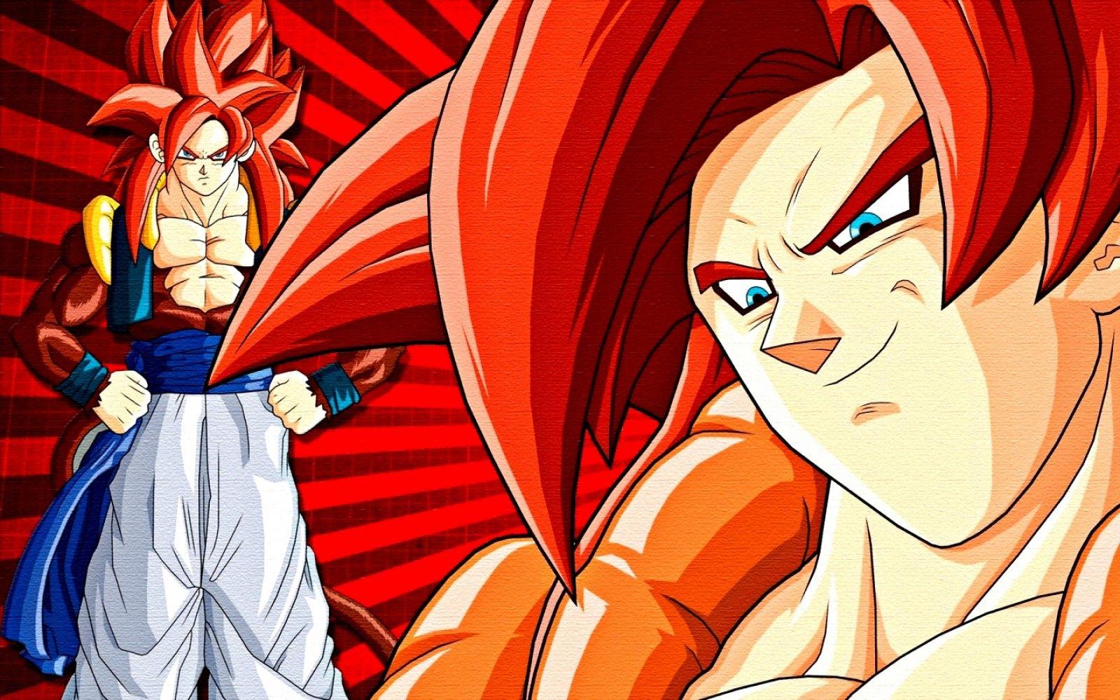 Dragon Ball Z Super Gogeta Fusion SSJ 4 Wallpaper | The ...