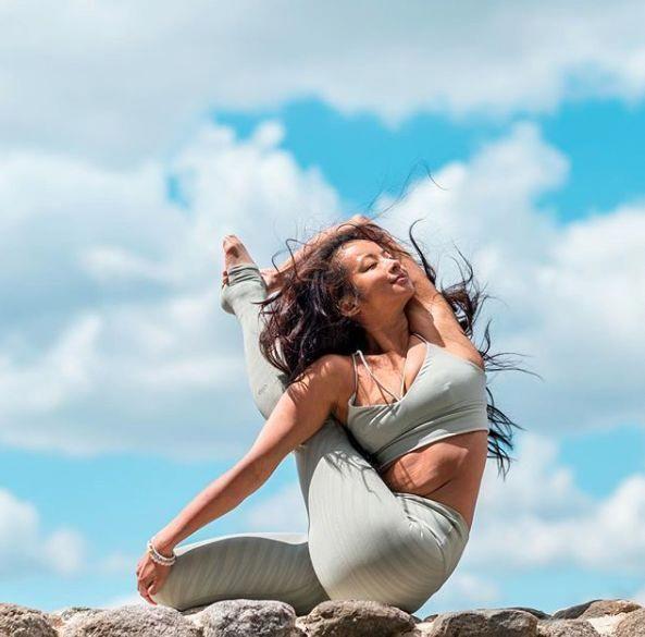 Four Advanced Yoga Poses (With images)   Basic yoga poses ...