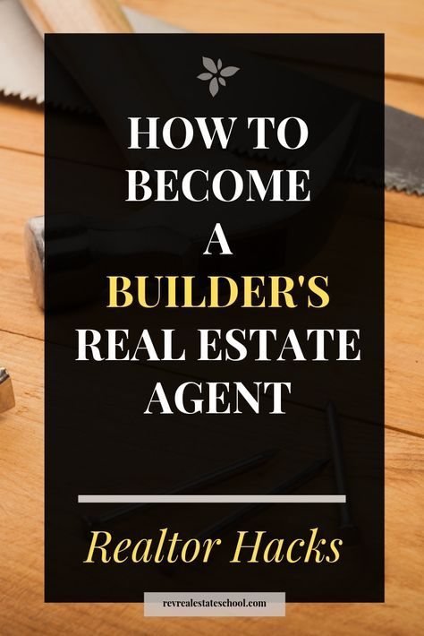 How To Become a Builder's Real Estate Agent. Realtor Lead Generation Ideas