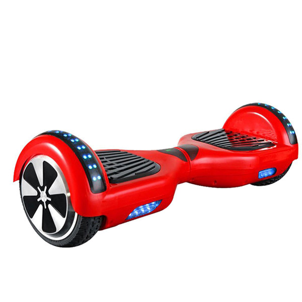 Fire Brick Red Swegwaysplus Swegway Hoverboard With Bluetooth 6 5 Inch 2 Wheel Hands Free Segway