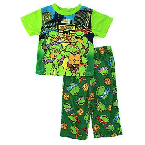 TMNT Ninja Turtles Toddler Green Poly Pajamas (2T) Nickelodeon http://www.amazon.com/dp/B00TRKXOXO/ref=cm_sw_r_pi_dp_-HYavb06B3HB4