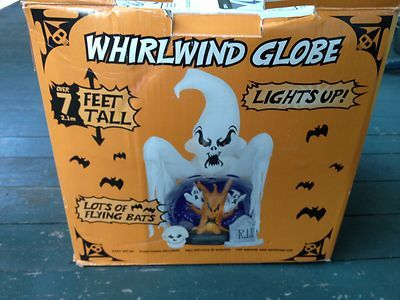 Halloween Airblown Inflatable Whirlwind Graveyard Globe ...