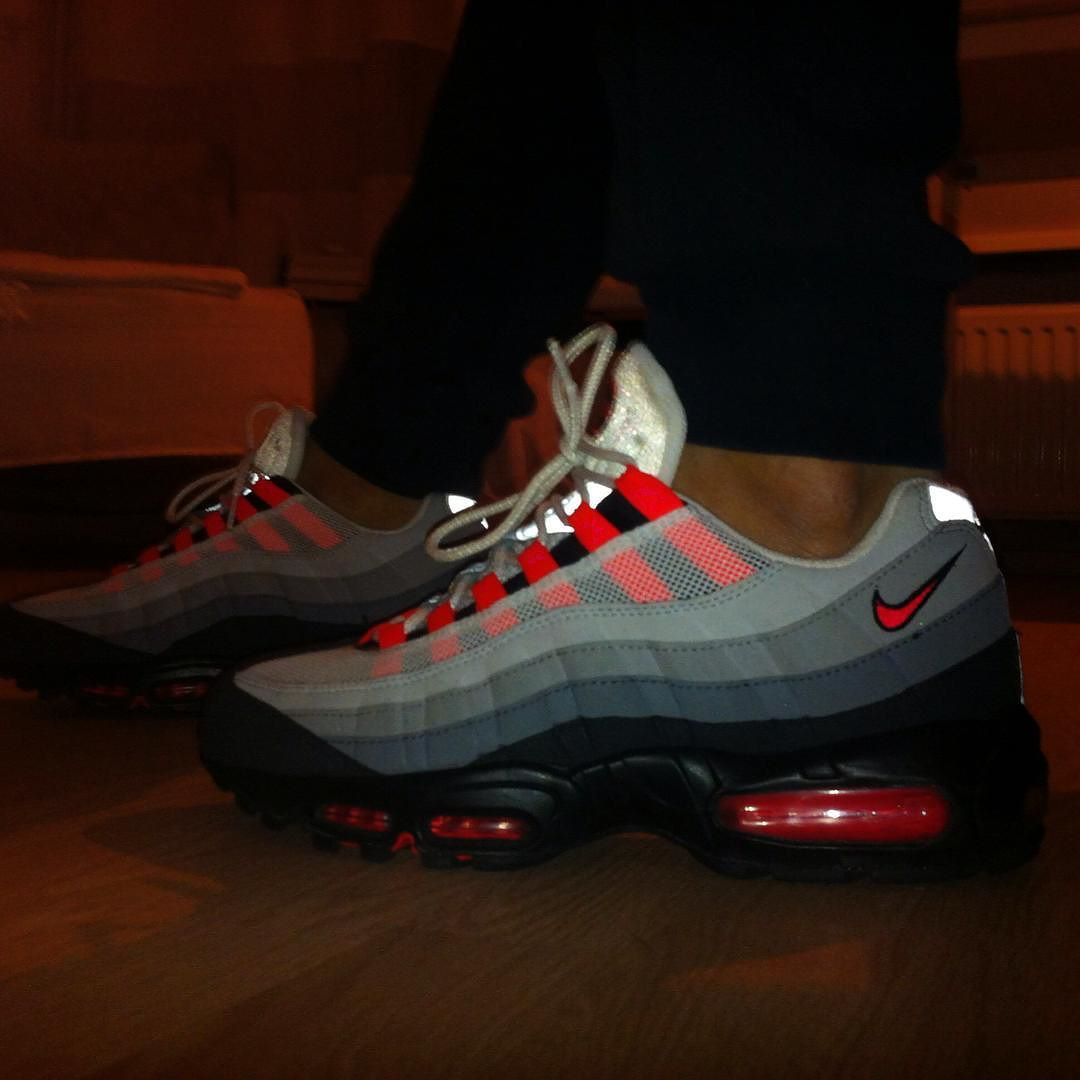 Nike air Max 95 infrared by jantjetn. Find this Pin and ...