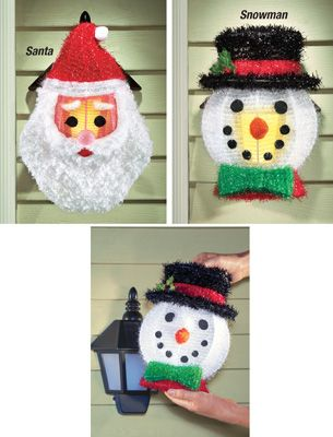 Outdoor Holiday Porch Light Covers Set Of 2 Porch Light Covers Decorating With Christmas Lights Halloween Christmas Decorations