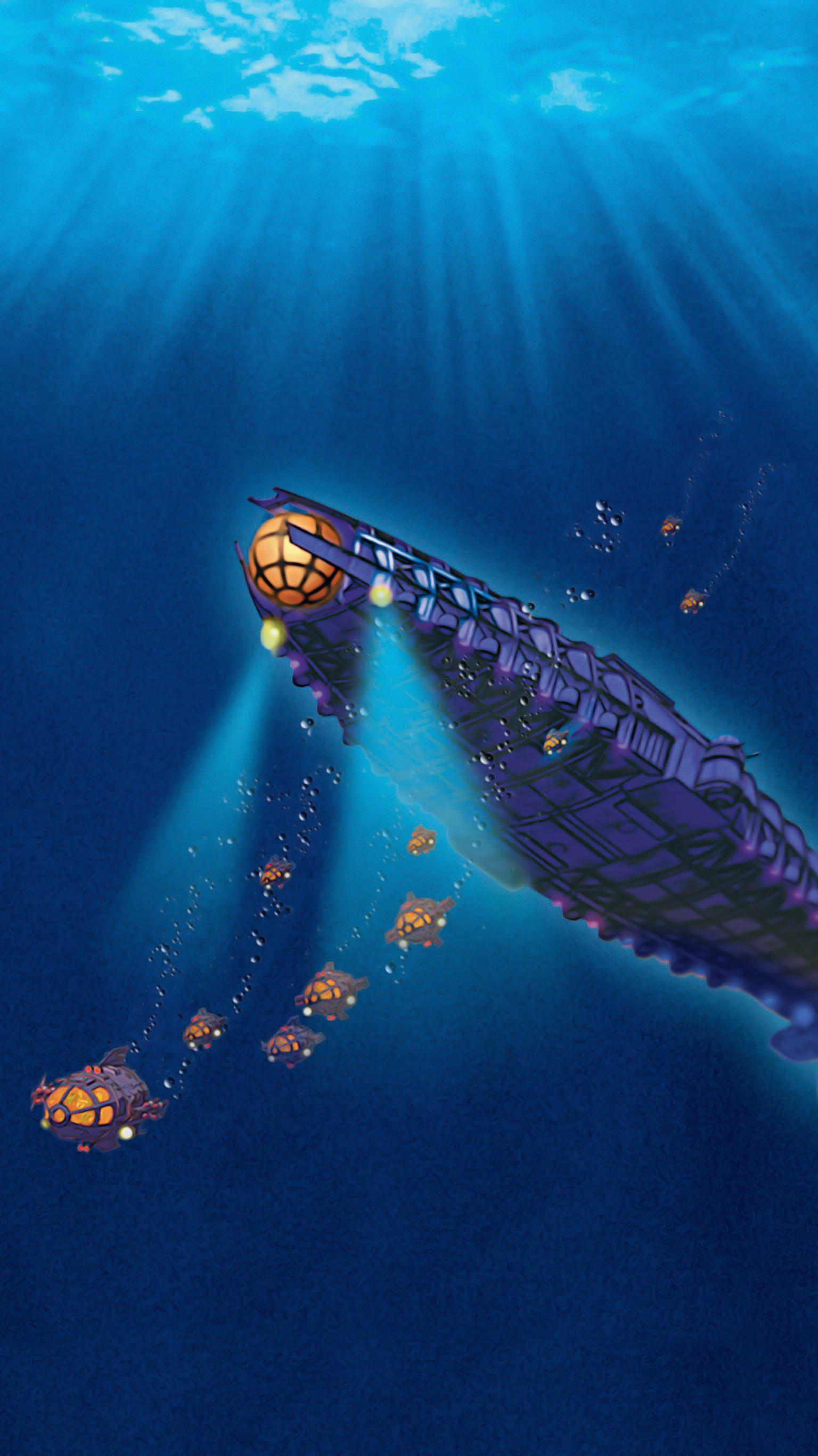Atlantis: The Lost Empire (2001) Phone Wallpaper   Moviemania