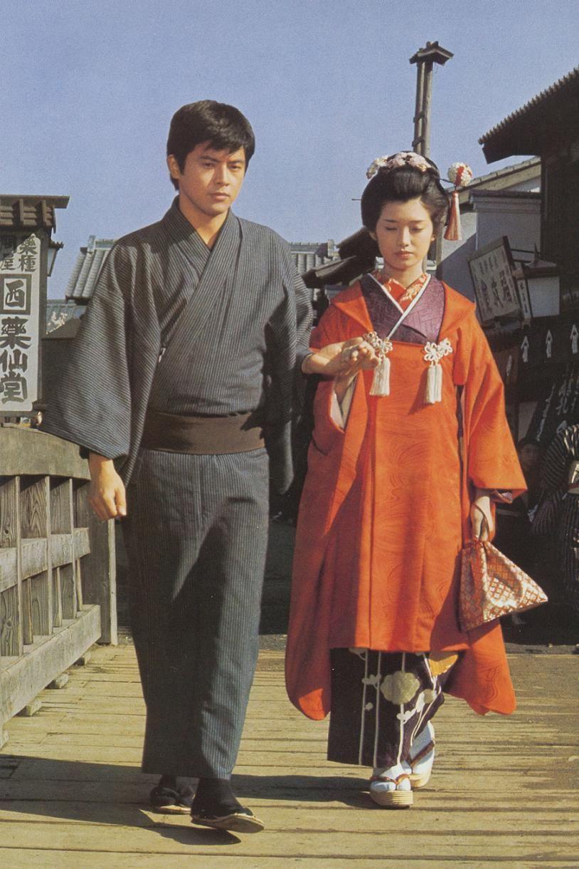 Tomokazu Miura(三浦友和)Momoe Yamaguchi(山口百恵)/ 春琴抄 Japanese