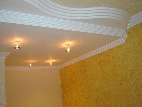 Modelos de paredes com grafiato yeso y textura for Modelos de techos de yeso