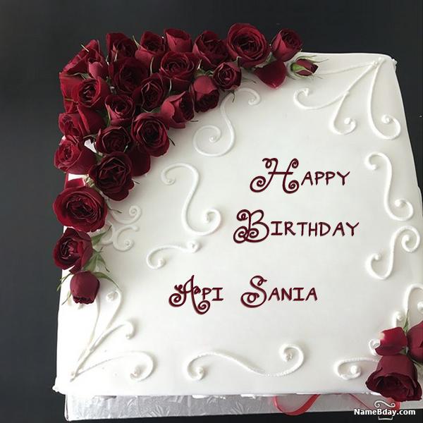 Happy Bday Image Api Sania Happy Birthday Cake Images Happy