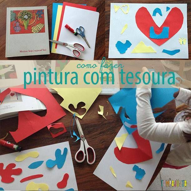 Pintar Com Tesoura Uma Arte Inspirada Em Matisse Henri Matisse