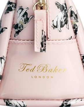 a90930b71 Ted Baker French Bulldog Make-Up Bag  Ashley Mcgaw