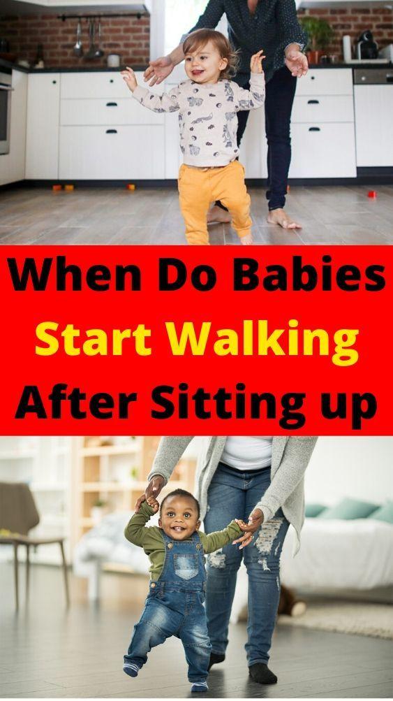 When Do Babies Start Walking in 2020 | Baby health, Baby ...