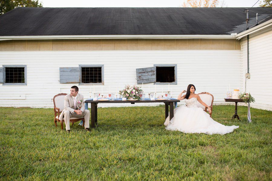 Rustic Ranch Wedding Inspiration Chic