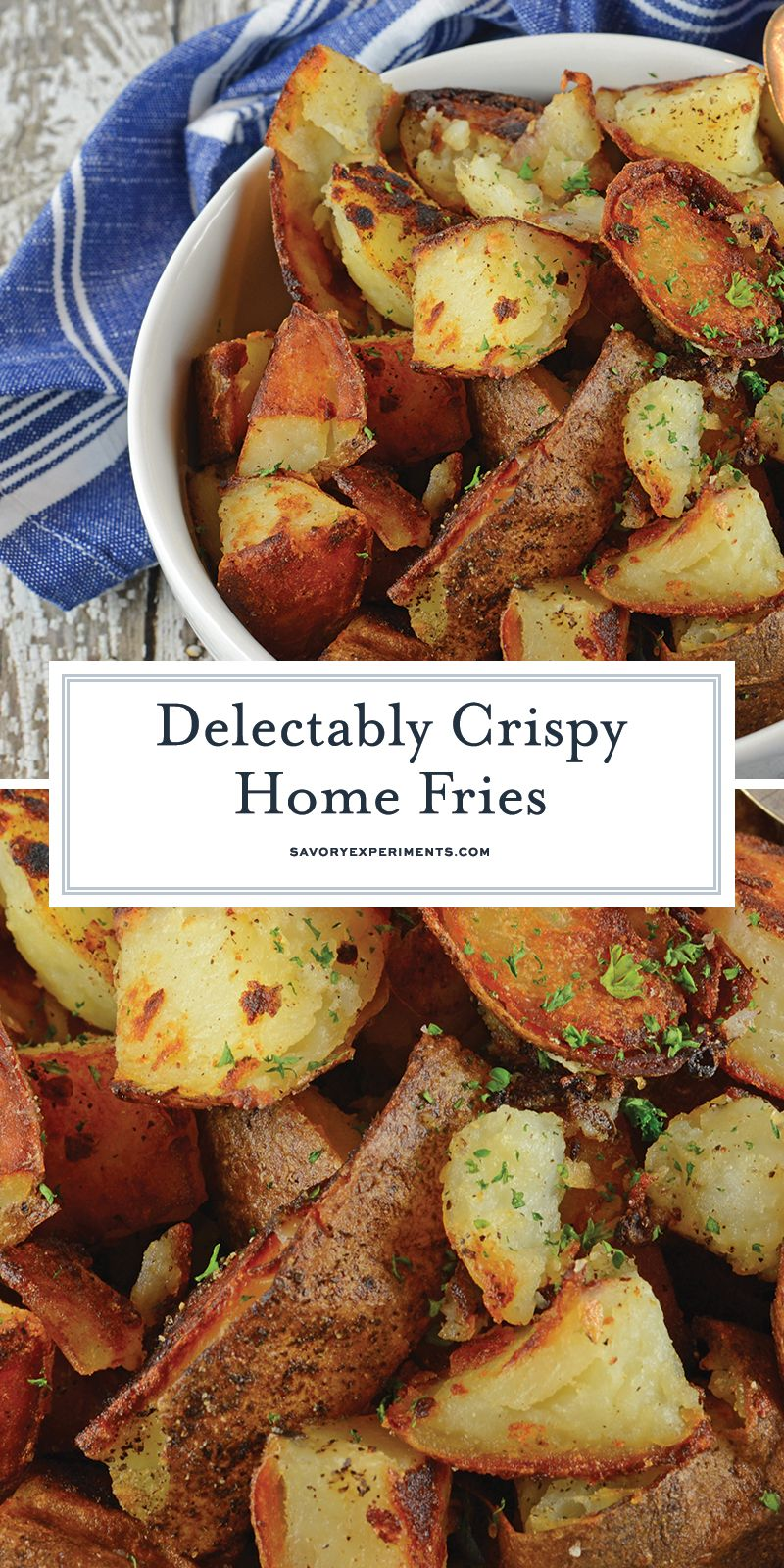 Make Crispy Home Fries Like At The Restaurant Right At Home My