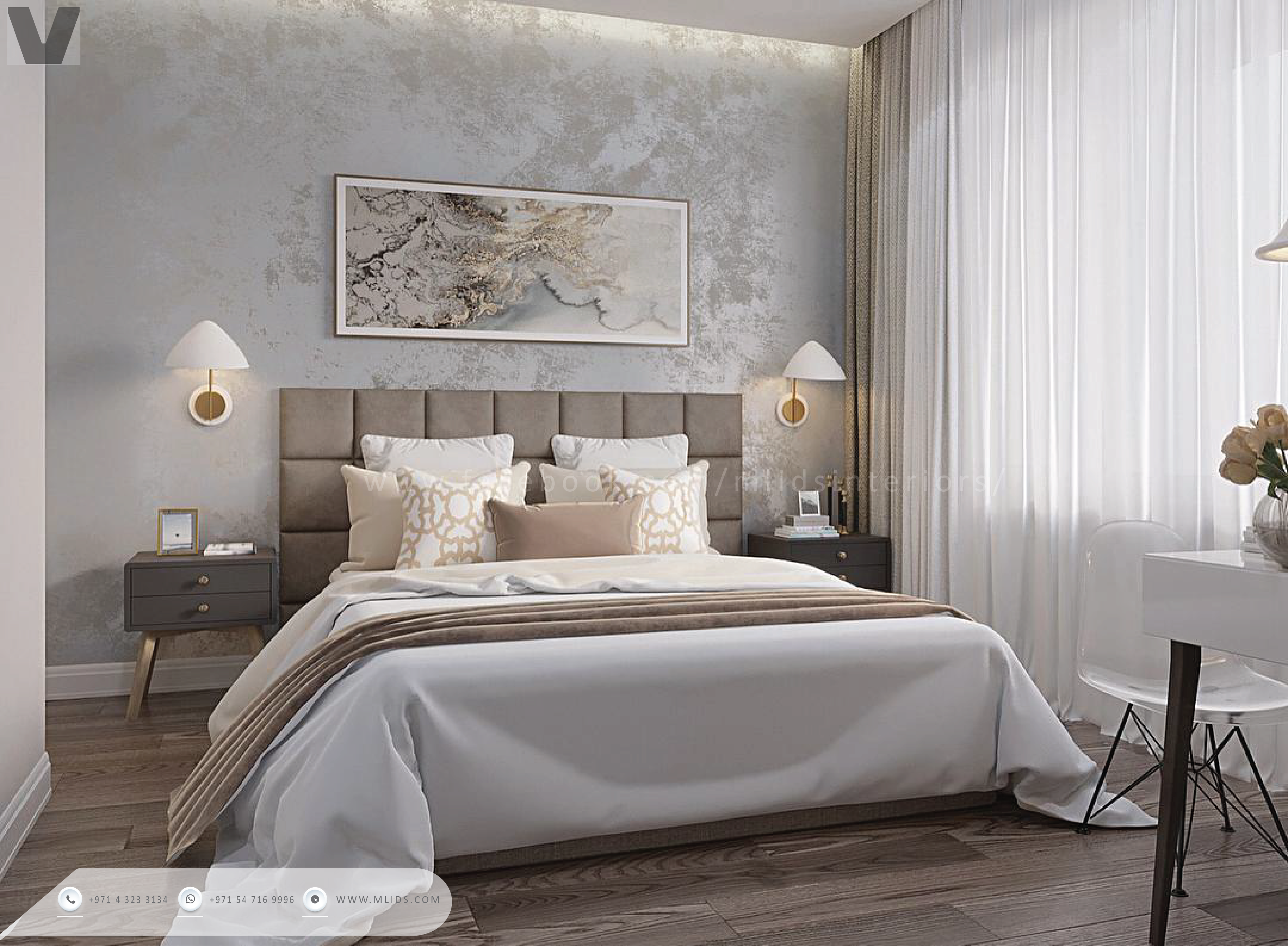 Wallpaper be it classic or modern works to add depth to