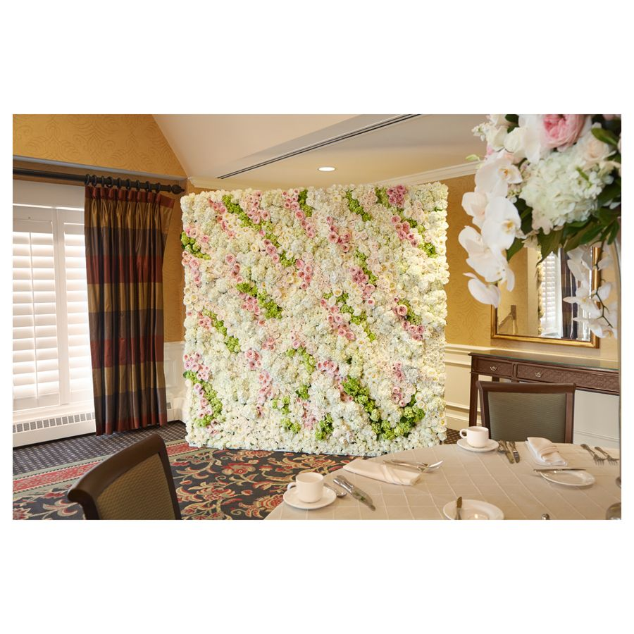 Using OASIS Floral Foam Tile can create a beautiful back-drop for ...