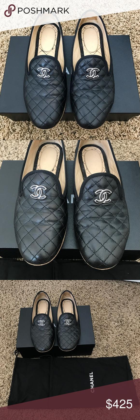 Chanel shoes flats