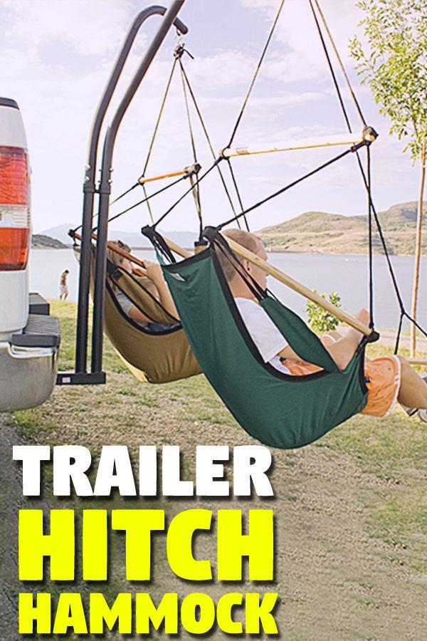 A Trailer Hitch Dual Hammock Chair Set Trailer Hitch Hammock Camping Hammock